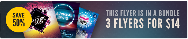 Party Flyer Bundle Vol6
