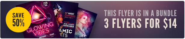Top Party Flyer Bundle 2